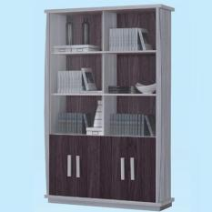 Dominiq 6124-LGWG Book Case (FREE DELIVERY) (FREE ASSEMBLY)