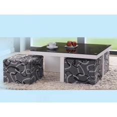 Dominiq 9332 Wht Coffee Table Free Delivery Free Assembly Price