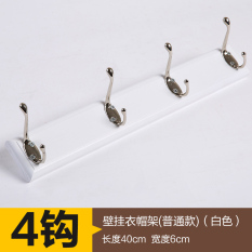Discount Door After Hook Shelf Rack Wall Bedroom Hanging Clothes Hook Bathroom Wall Hangers Wood Creative Wall Coat Hook Oem China