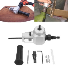 Discount Double Head Sheet Metal Nibbler Cutter Cutting Saw Tool Power Drill Attachment Intl China