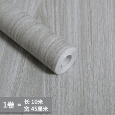 Model Wood Grain Self-Adhesive Wallpaper Wood Wardrobe And Cabinet Wallpaper Drawer Table Furniture Door Renovation Adhesive Paper Waterproof