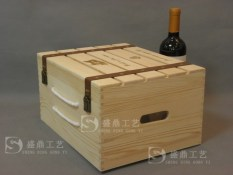 Dress wine red wine wooden box wooden