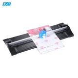 Dsb Tm 10 A4 Secure Trimmer Cutter 3 In 1 Wave Straight Skip Selectable Stainless Steel Blades With Swinging Extended Ruler For Photo Paper Card Craft Cutting Intl Price Comparison