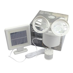 Dual Double Two Head Solar Power 22Led Pir Motion Sensor Security Light Lamp Intl For Sale