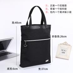 Buy A4 B4 Shoulder Bag Waterproof Large Capacity Tutorial Bag Folding Bag China
