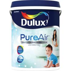Price Comparisons Dulux Pureair 5 Litre Most Odorless Paint 30Gy88 014 White On White