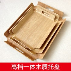 Promo Dumplings Pad Curtain Bread Tray Wooden Tray