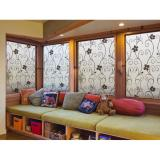 Duofire Privacy Glass Stickers Home Decor Frosted Opaque Glass Window Film Black Wrought Iron Flower Size 90X200Cm Lzdp014B Intl Free Shipping