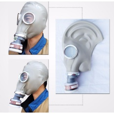Dust gas mask Respirator Painting Spraying full face with Cartridges set protect - intl