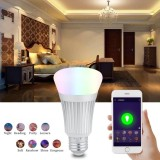 Brand New E27 7W Wifi Smart Light Bulb Wireless Dimmable Rgbw L E D Lamp Voice Control Intl