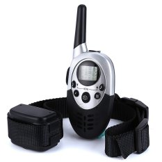 Buy E613 Pet Dog Anti Shock Collar Waterproof 1000M Remote Control Eu Plug Black Cheap Singapore