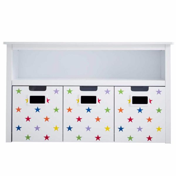 Easy Reach Storage - Rainbow Star Drawers