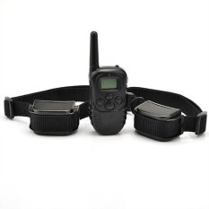 Easybuy Rechargeable Waterproof Lcd Level Shock Vibra Remote 2 Dog Training Collar Us Plus Free Shipping