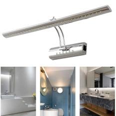 Promo Egc 5W 40Cm Ac85 265V Wall Lamps Bathroom Led Mirror Light Stainless Steel Wall Sconces Lighting Cool White Intl