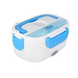 Compare Prices For Electric Heating Lunch Box Portable Bento Meal Heater Food Warmer Container Color Blue Size 225 165 110Mm Intl