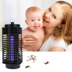 Electric Mosquito Fly Bug Insect Zapper Killer Control Withtrap Lamp By Welcomehome.