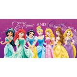Disney Princess Bath Towel Elegant Graceful On Line