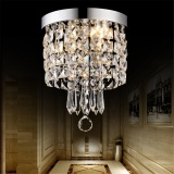 Elegant Chandelier Crystal Lamp Light Ceiling Flush Mount Fixture Home Decor Intl Best Price