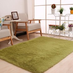 Store Elife 120X160Cm Thicken Soft Large Plush Shaggy Carpet Floor Mats For Living Room Bedroom Home Office Decor Grass Green Intl Elife On Singapore