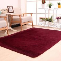 Elife 120x160cm Thicken Soft Large Plush Shaggy Carpet Floor Mats For Living Room Bedroom Home Office Decor - intl