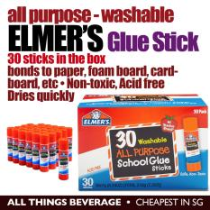 Buy Elmer S All Purpose Sch**L Glue Sticks Washable 30 Pack Cheapest In Sg Singapore