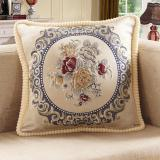 Cheap Embroidered Bed Living Room European Style Stuffed Sofa Pillow