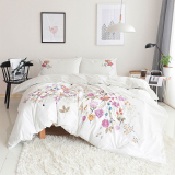 Embroidered Cotton Quilt Cover Oem Cheap On China