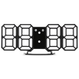 Sale En8810 3D Led Digital Wall Clock Alarm Function Intl
