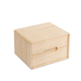 Low Price Environmentally Friendly Pine Bedside Cabinet Two Bucket Cabinet