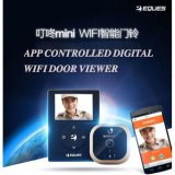 Eques Veiu Mini R21 Digital Smart Wifi Door Viewer Premium Gold Free Shipping