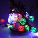 Price Comparisons Er Chen 20Ft 30 Led Modelling Lights Outdoor Battery String Lights Christmas Fairy Lights For Garden Patio Yard Home Christmas Tree Intl