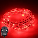 Discount Er Chen Tm Led String Lights 10M 100 Leds Silver Wire Lights Waterproof Starry String Lights Decor Rope Lights For Seasonal Decorative Christmas Holiday Wedding Parties Intl China