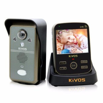 ERA 3.5inch Wireless Door Intercom Video Intercom Camera Doorbell Video Door Phone EU Plug