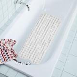 Era 40 100Cm Pvc Large Bathtub Non Slip Bathroom Bath Mat With Suction Cups White Intl For Sale Online