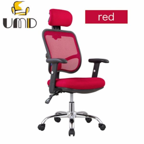 Ergonomic High Back Mesh Office Chair Swivel/Tilt/Lumbar Support J24 (Red) (Free Installation for purchase of 2 chairs & above) Singapore