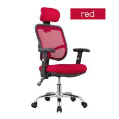 (Free Installation/1 Year Warranty) UMD Ergonomic mesh office chair with steel base & adjustable headrest / backrest/ armrest design