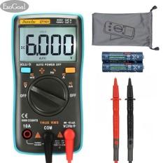 Esogoal Digital Multimeter, Auto Volt Transistor Analyzer Amp Meter Ranging Voltmeter 6000 Counts, Multi Volt Electrical Tester, Voltage Power Meter Tester Measuring Ac/dc Voltage Tester, Hz With Backlight Lcd Display - Intl By Esogoal.