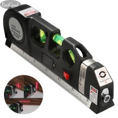 Esogoal Multipurpose Laser Level Laser Measure Line 8ft+ Measurement Tape Ruler Adjusted Standard And Metric Rulers By Esogoal.