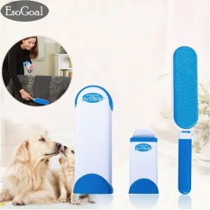 Low Cost Esogoal Pet Fur Lint Remover With Self Cleaning Base Double Sided Brush Removes Dog Cat Hair From Clothes Furniture Intl