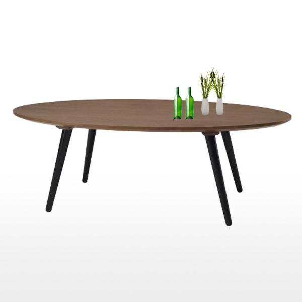 Estella Coffee Table in Cocoa Colour (Fully Assembly)