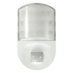 Buy Eu Plug In Infrared Motion Sensor Socket Hallway Room Led Night Light Lamp White Oem Cheap