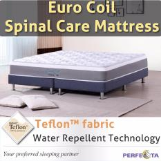 King Size Euro Coil Spinal Care Mattress With Teflon Fabric Water Repellent Technology On Line