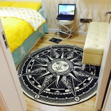 Where Can I Buy European And American Cool Minimalist Modern Round Carpet Living Room Coffee Table Bedroom Bed Mats Creative Desk To Feet Mat