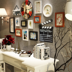 Compare Prices For European Bedroom Frame Photo Wall