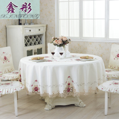 Sale Xin Tong Pastoral European Embroidered Round Table Cloth Oem Original