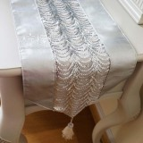European High Grade Wave Fabric Display Table Runner Placemats Bed Flag Lowest Price