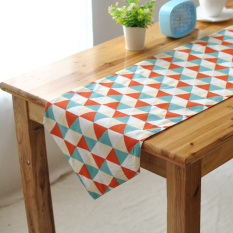Cheap European Minimalist Modern Geometric Striped Fresh American Table Cloth Table Runner Tablecloth Coffee Table Upscale Customized Online
