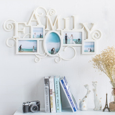 European-style living room home decoration 7-inch 6-inch round frame Green Cool creative photo frame wall wedding photo frame