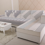 Store European Style Double Sided Quilted Sofa Cover Oem On China