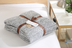 Discount Cotton Knit Blanket Oem On China